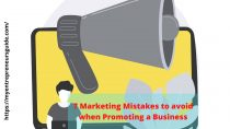 Mistakes to avoid when promoting a new business