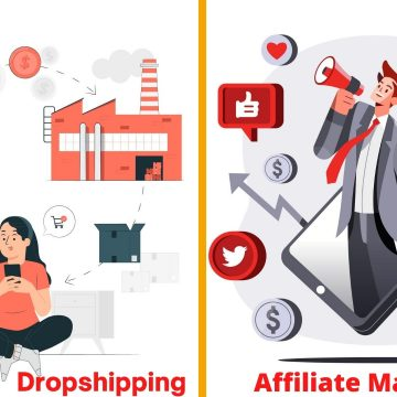 Drop shipping and Affiliate Marketing